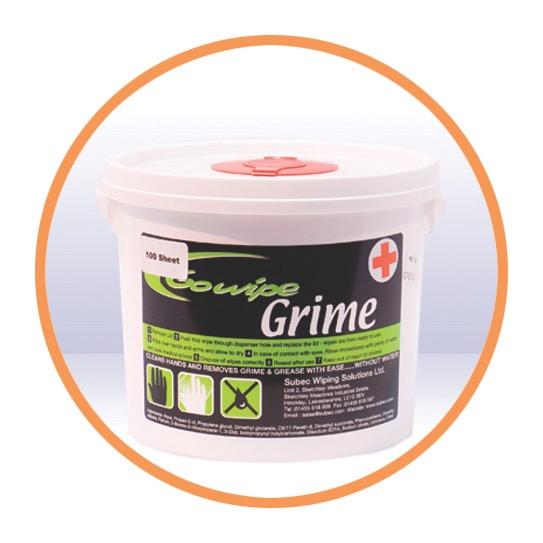 Go Wipe Grime Plus 100sht