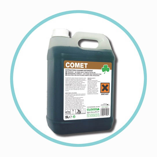 Clover Comet Carpet Cleaner For Extraction Cleaning